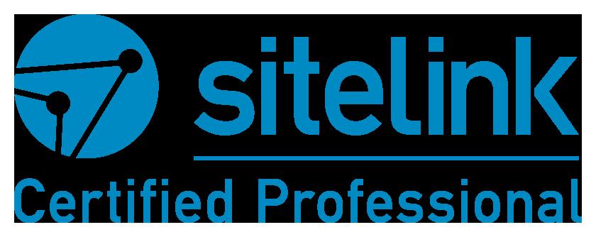 sitelink certified professional logo